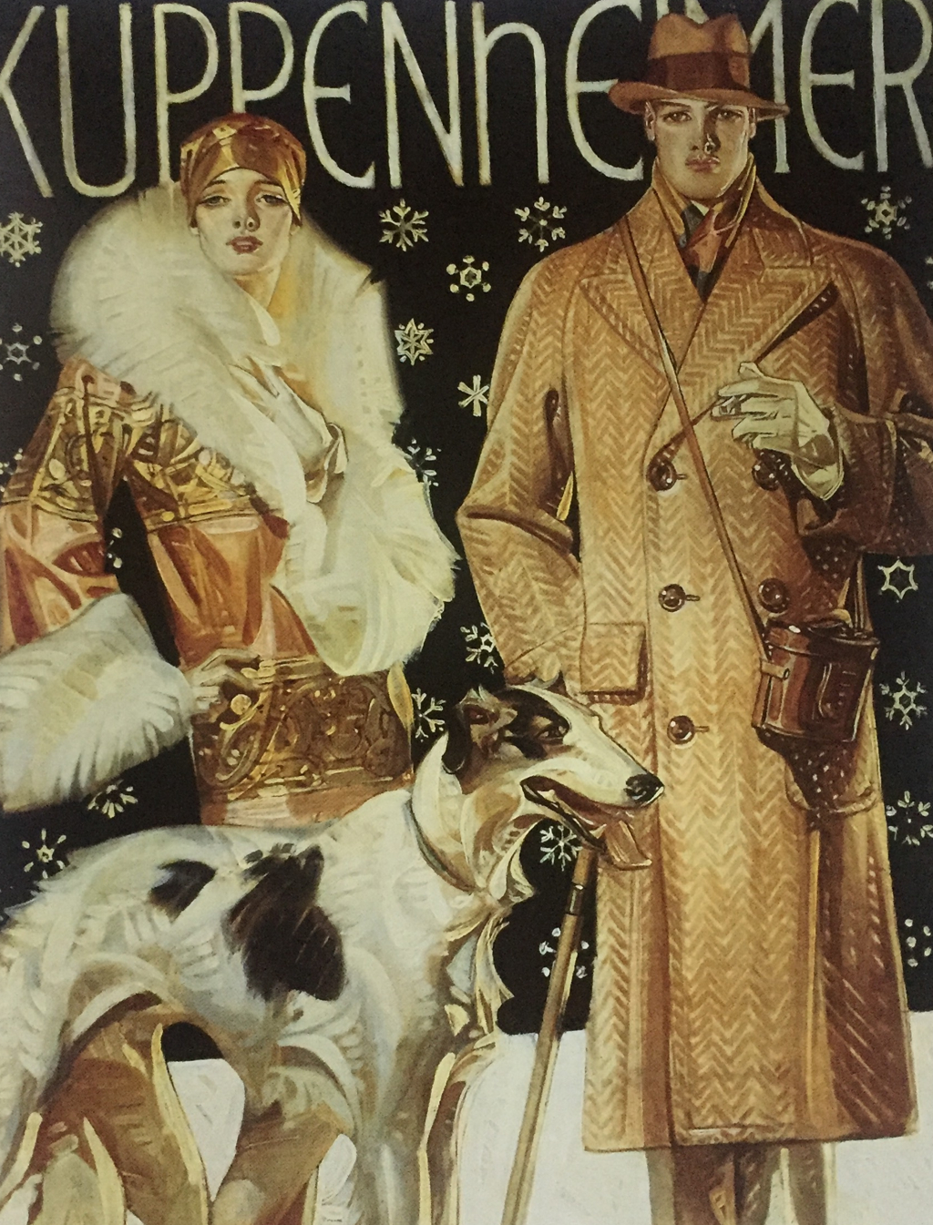 Wolfhound, Joseph Christian Leyendecker, 1874-1951